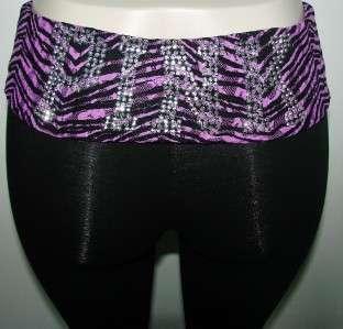 victoria s secret pink fold over waist spandex yoga pants