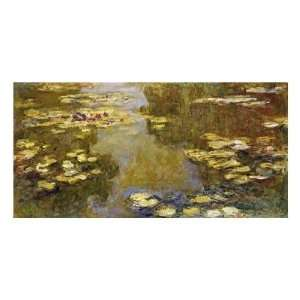 Claude Monet   The Lily Pond Giclee