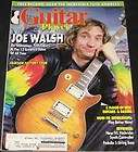 Guitar Player Magazine April 1988 Joe Walsh/ Includes Soundpage
