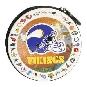 Minnesota Vikings NFL Team Logos CD / DVD Case Holder Electronics
