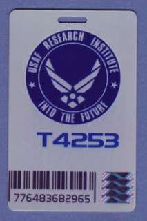 US Air Force ID Card Stargate USAF Research Institute