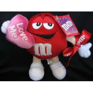 Red Love Me Valentine 7 Plush Character