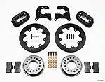 Part # 140 2119B   Wilwood Dynalite Drag Race Rear Disc Brake Kit