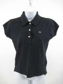 POLO JEANS CO. RALPH LAUREN Black Polo Shirt Top Sz L