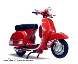 Vespa 200 Rally (1972) 118 Maisto VERY RARE