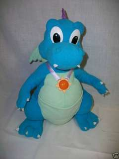 1999 Playskool Hasbro Dragon Tales ORD Plush Toy Talks