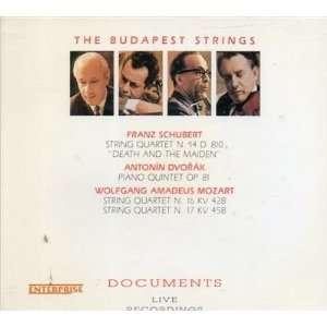 Dvorak (Piano Quintet Op. 81), Mozart (String Quartet N. 16 KV 428