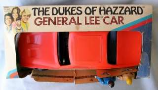 Vintage Mego DUKES OF HAZZARD GENERAL LEE CAR w/ FIGURES MIB