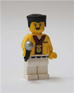 LEGO QUEEN Freddie Mercury Custom Minifigure Set EX+