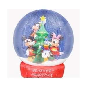 Ft Tall Disney Mickey Minnie Donald Duck Goofy Globe