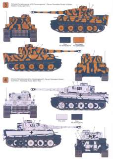 Techmod Decals 1/35 PzKpfw VI TIGER E TANK EARLY MODEL