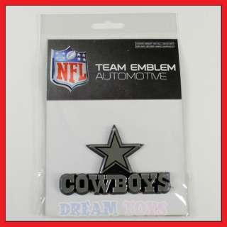 NFL Dallas Cowboys 3D Logo Auto Emblem   Licensed