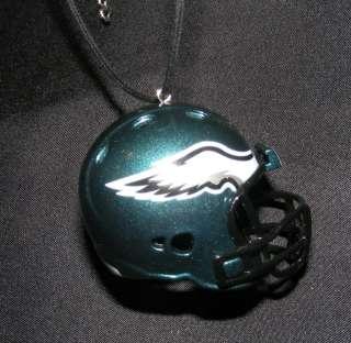 Philadelphia Eagles NFL Helmet Pendant Necklace Jewelry Mirror Hanger
