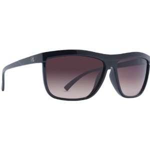 VonZipper Luna Mens Lifestyle Sunglasses   Black Clear/Gradient / One