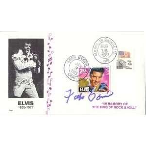 com Domino, Fats Autographed/Hand Signed Cachet (Elvis Presley) Fats