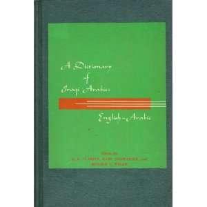 A DICTIONARY OF IRAQI ARABIC ENGLISH ARABIC BE.E CLARITY