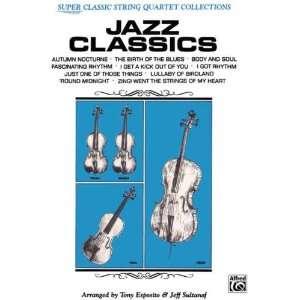 String Quartets) (9780769233062) Tony Esposito, Jeff Sultanof Books
