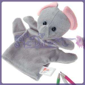 Elephant Hand Puppet Preschool Plush Toy Party Favors