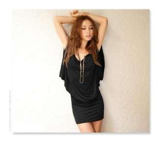 Cocktail Sexy Dress Top Blouse Womens T shirt 8   16