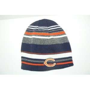 NFL Chicago Bears Reversible Knit Beanie Hat Ski Skull Cap