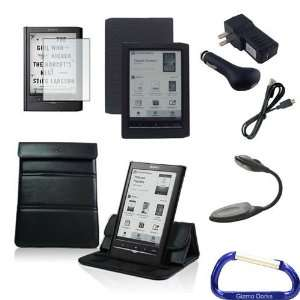 with LED Light and Carabiner Key Chain for the Sony Reader PRS 650