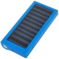 light Solar Power Battery Charger w/ Cell phone Adapter for iphone