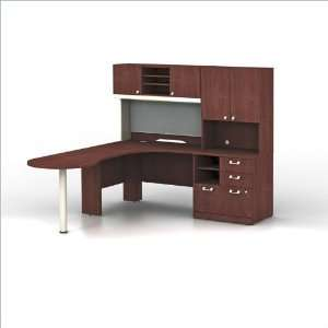 naptyp10l napa left l shaped computer corner desk office products