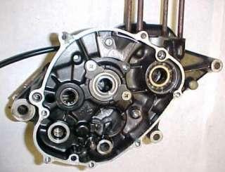 81 YAMAHA YZ60 YZ 60 ENGINE CRANKCASE CRANK CASE CASES