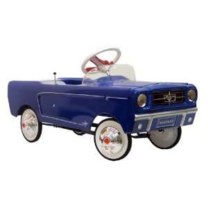 1965 Ford Mustang Blue AMF Pedal Car Toys & Games