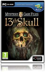 MYSTERY CASE FILES 13TH SKULL HIDDEN OBJECT GAME   NEW