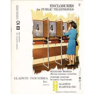 Gladwin Enclosures for Public Telephones 1966 Gladwin