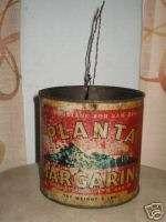 Old Planta Margarine Tin