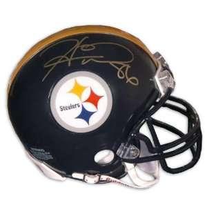Hines Ward Pittsburgh Steelers Autographed Mini Helmet