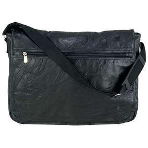 Genuine Leather Mosaic Executive Messenger Bag Briefcase Laptop Tote