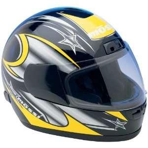 Mossi® Full Face Street Helmet, BLACK