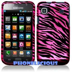SAMSUNG GALAXY S 4G Phone Cover Hard Case PINK ZEBRA