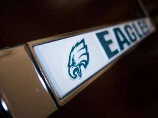 Philadelphia Eagles Chrome Car License Plate Frame