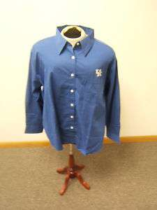 UK Vantage Blue Button Up Cotton Long Sleeve Shirt 2XL