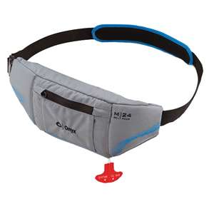 Onyx M 24 Manual Inflatable PFD Universal Belt Pack   Grey