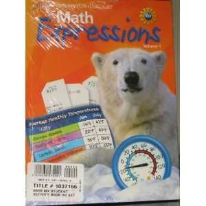 Math Expressions, Grade 4 Student Activity Book Set Houghton