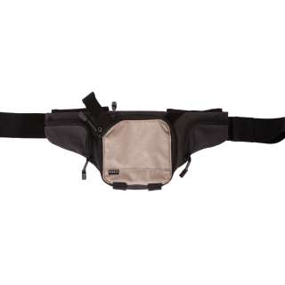 FANNY PACK CARRYING POUCH KHAKI AND CHARCOAL 58604 NEW HOLSTER NEW