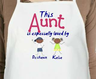 This Grandma Is Loved By Custom Stick People Adjustable Apron
