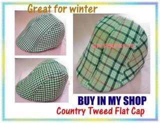 Boys flat cap aged 1 3 super cute baby kids hat