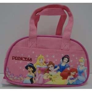 Disney Princess Pink Girls Handbag Purse / Cosmetic Bag