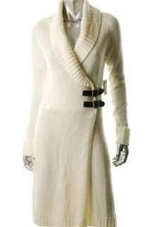 FAMOUS CATALOG Moda Ivory Casual Dress Knit Sale XS