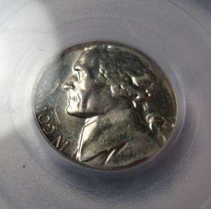 1964 Jefferson Nickel Struck on Silver Dime Planchet PCGS MS63 *Rare!*