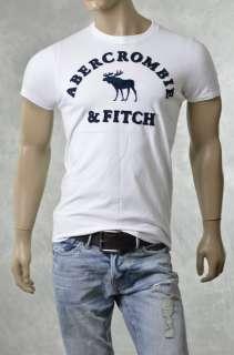 Brand Mens A & F Tee Shirts NEW FELDSPAR Muscle Fit T Shirt NWT