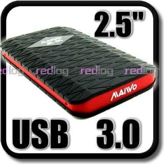 USB 3.0   2.5 SATA HDD Hard Drive Enclosure Case Caddy