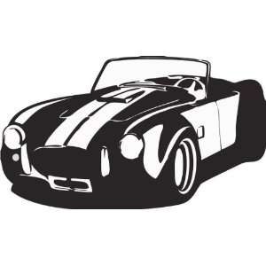 AC Cobra Decal Sticker Wall Graphic Car Racing Room kids nursery