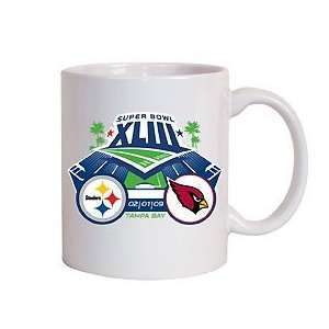 Steelers Super Bowl XLIII Dueling Coffee Mug Sports & Outdoors